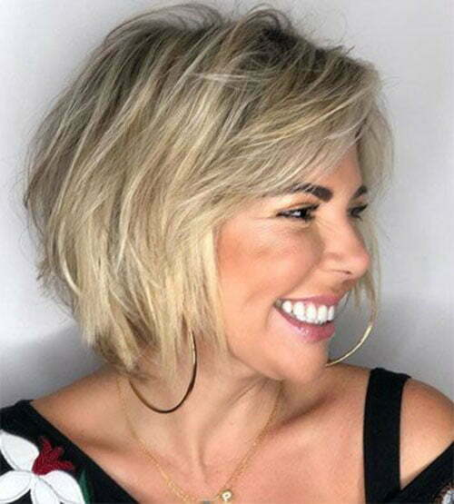 Short Hairstyles for Fine Thin Blonde Hair-9