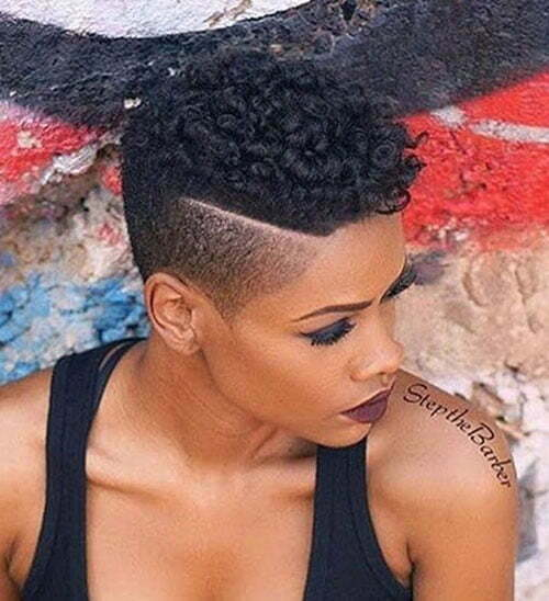 Best Natural Hairstyles For Short Hair For Women Short