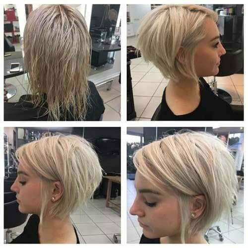 Layered Bob Hairstyles For Fine Thin Hair 69