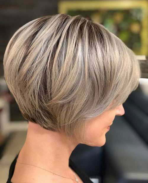 Super Short Stacked Bob