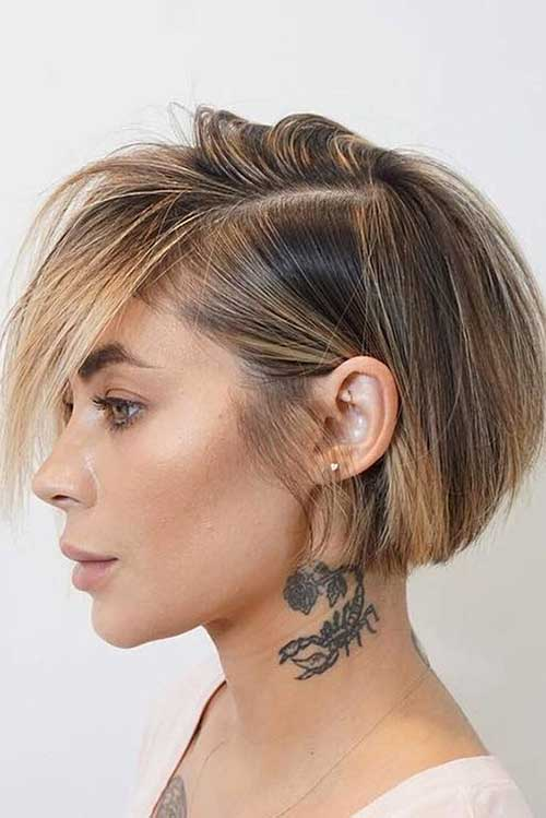 Short Bob Styles for Women-17