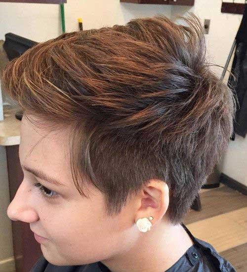Modern Short Hairstyles-18