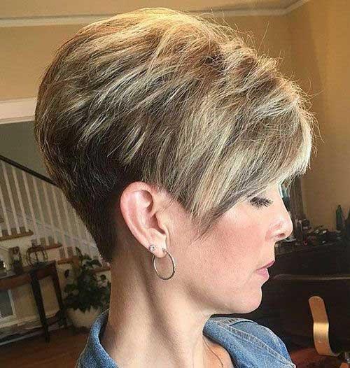 Modern Short Hairstyles-19
