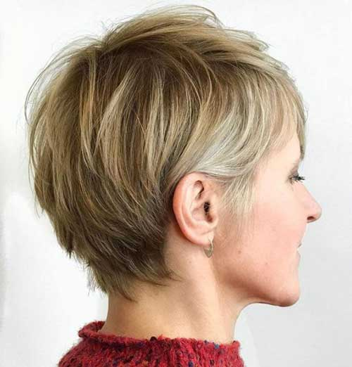 Cute Short Haircuts for Fine Hair-7
