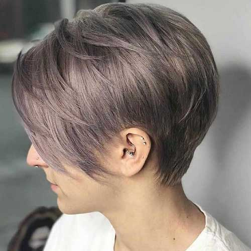 Cute Short Haircuts for Fine Hair-8