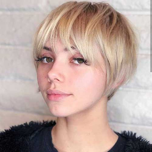 Cute Short Haircuts for Fine Hair-9