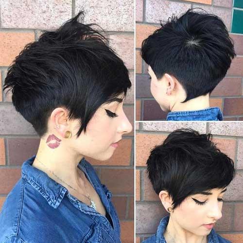 Short Layered Pixie Haircuts-9