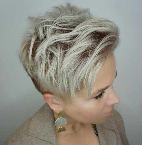 Short Layered Pixie Hairstyles