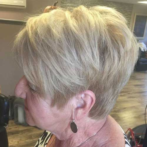 Layered Short Haircuts for Older Ladies-6