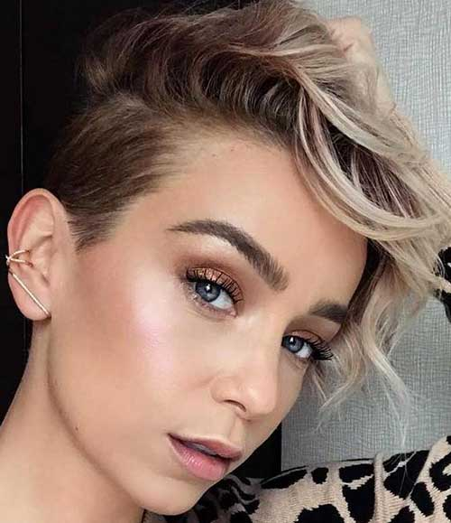 Edgy Pixie Haircuts
