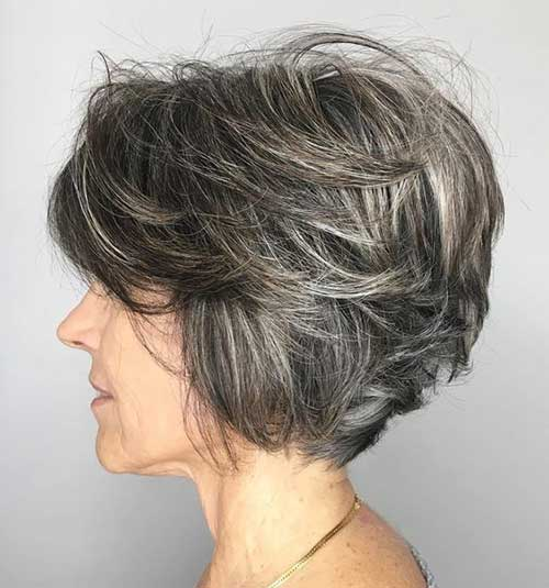 Short Hairdos for Older Women