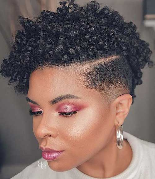 Short Natural Haircuts for Black Females