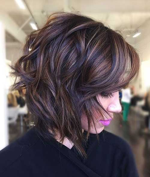 Short Natural Wavy Hair
