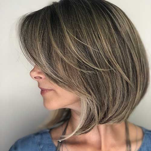 20 Best Short Haircuts For Women Over 50 With Thick Hair Short Haircut Com