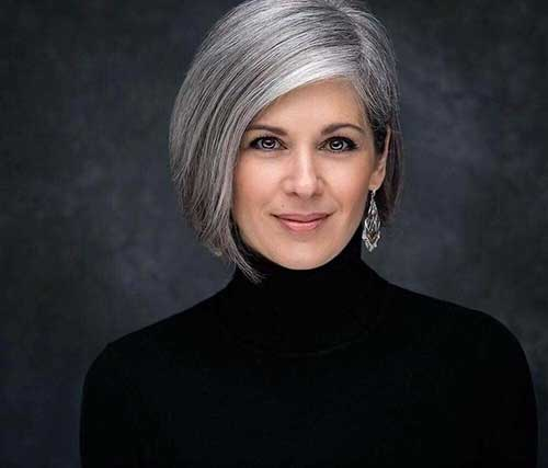 Short Haircuts For Thick Coarse Hair Over 50