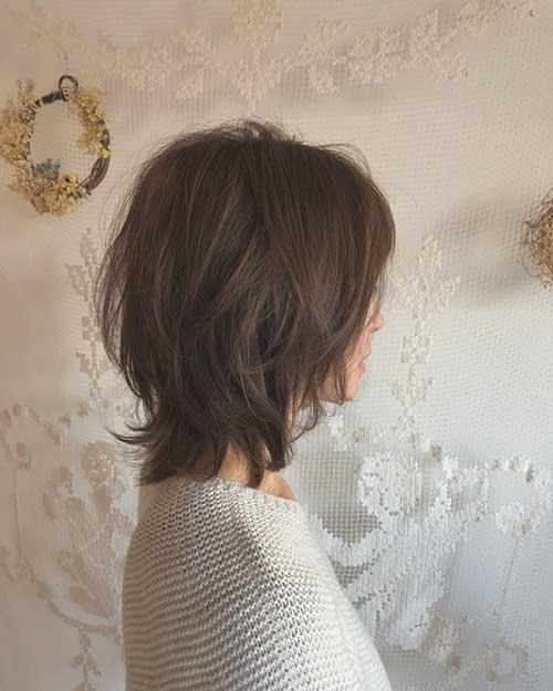 Short Messy Bob Hairstyles