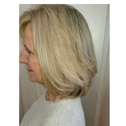 Short Layered Hairstyles For Women Over 60