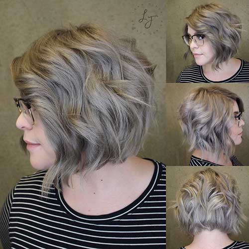 Short Layered Haircuts For Over 50