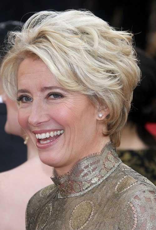 Modern Short Hairstyles For Older Women