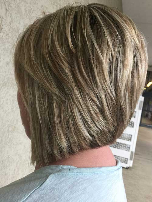 Short Layered Hair For Over 50