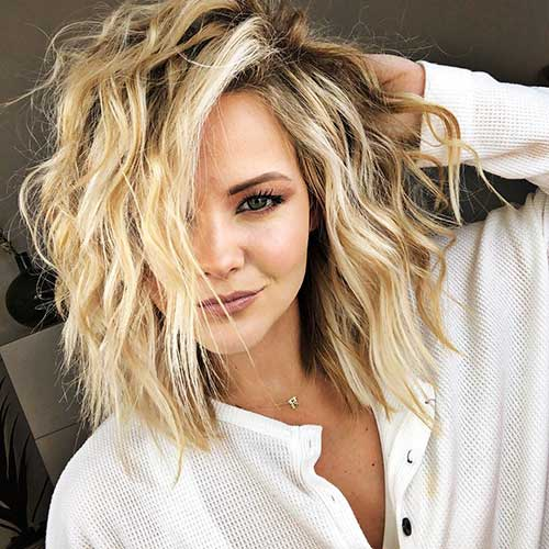 Short Messy Hairstyles