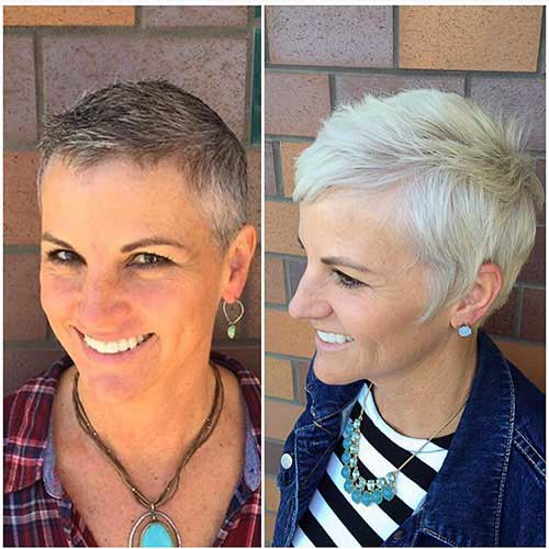 Short Pixie Haircuts For Over 60