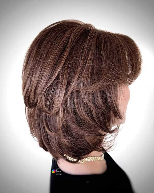 Pictures Of Short Layered Haircuts