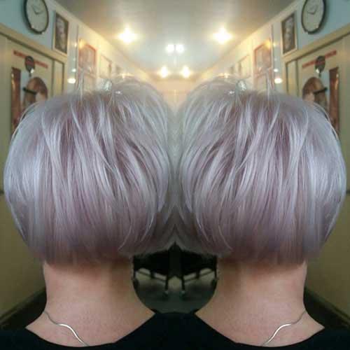 Short Bob Haircuts For Older Women