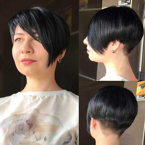 Layered Short Hairstyles For Over 40