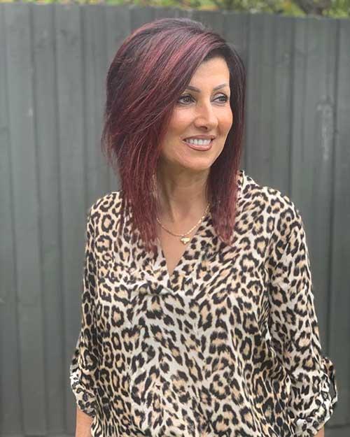 Short Hairstyles For Senior Women