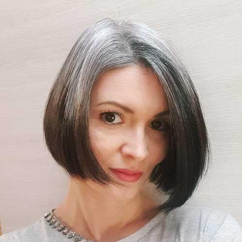 Short Bob Hairstyles For Older Women