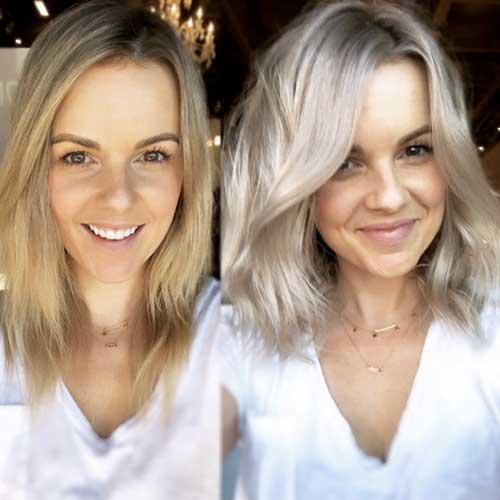 Short Gray Hair Women