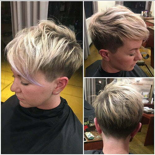 Textured Pixie Cut