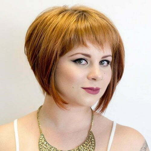 25 Trendy And Chic Short Hairstyles for Chubby Faces | Short-Haircut.com