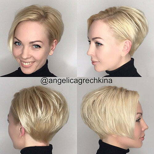 Short Haircuts For Thick Hair