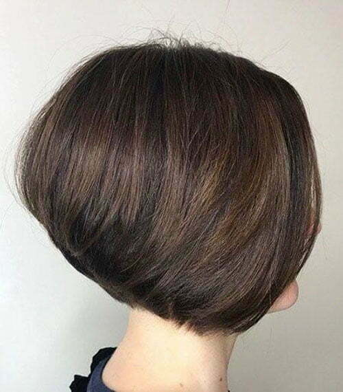 Reverse Bob Hairstyle