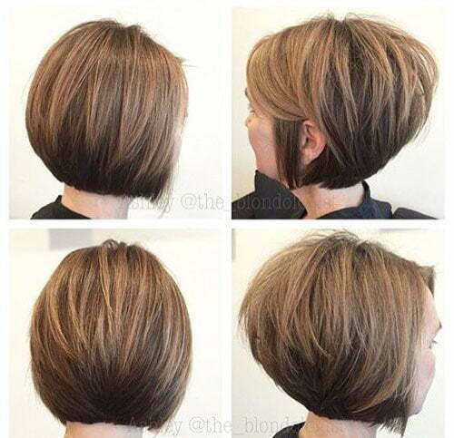 Stacked Bob Cut