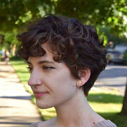 Short Curly Pixie Haircuts