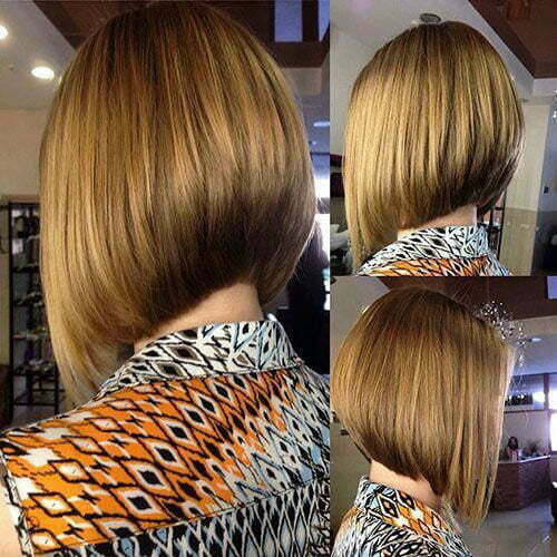 Graduated Bob Cut Images