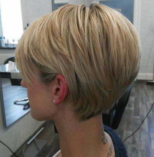 Pixie Blonde Hairstyles