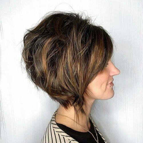 Reverse Bob Haircut