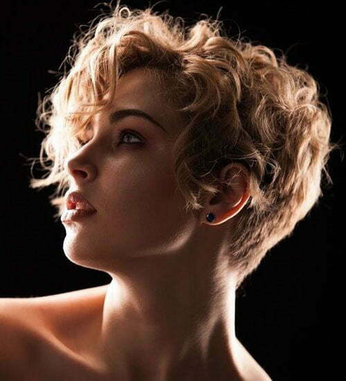 Short Curly Pixie Hairstyles