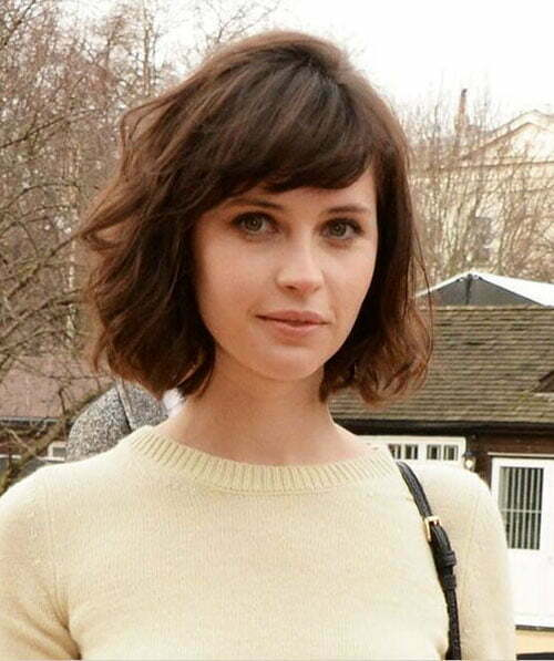 Bob Hair Styles With Bangs