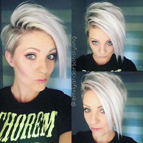 Pixie Blonde Hair