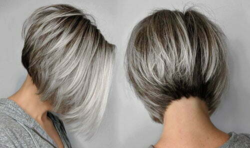 Reverse Bob Haircut Pictures