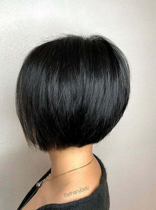 20 Awesome Stacked Bob Cut Models For 2020 Short