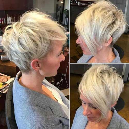 Blonde Pixie Haircut 2018