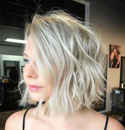 Blonde Short Haircut 2018