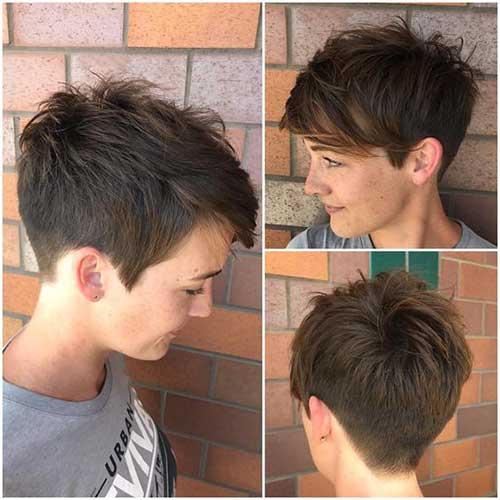 Boyish Short Haircut 2018