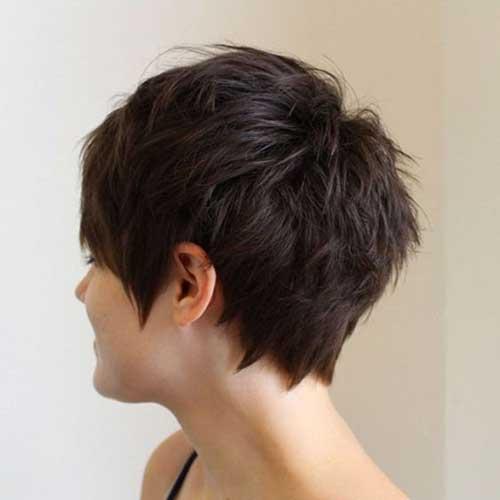 Choppy Layered Short Haircut 2018